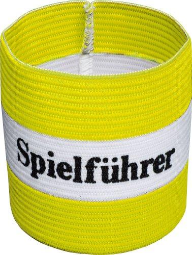 Cawila Fußball, Armbinde, Kapitänsbinde \'Spielführer Größen (gelb/weiß, Junior)