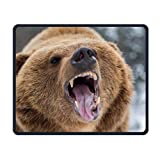 Bear-Pepper-Spray Office Office and Gaming Souris Pad Premium étanche Souris Mat 22* 18cm (8.7* 7.1inch)