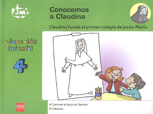 Conocemos a Claudina. 4 años. Congregación de Jesús-María [Catalán] - 9788467522570