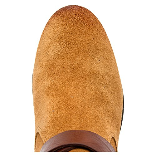 Marc Fisher Noreene Femmes Daim Botte Medium Brown