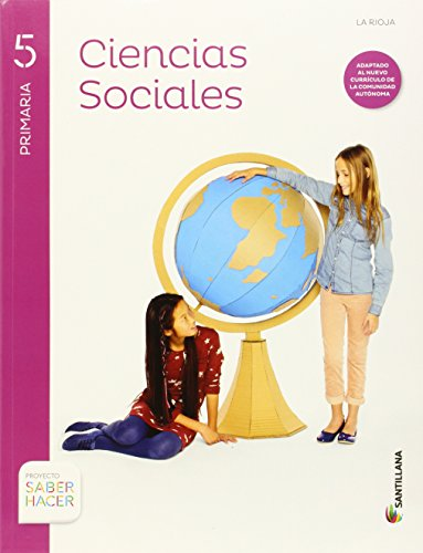 CIENCIAS SOCIALES + ATLAS RIOJA 5 PRIMARIA SANTILLANA - 9788468087801