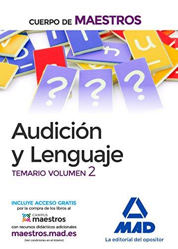 Cuerpo de Maestros Audición y Lenguaje. Temario Volumen 2 por S.L. CENTRO DE ESTUDIOS VECTOR