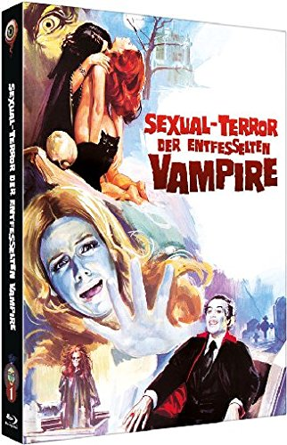 Sexual-Terror der entfesselten Vampire (Jean Rollin Collection Nr. 1 - Mediabook Cover B (+ DVD) [Blu-ray] [Limited Edition]