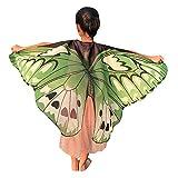 ZEELIY Party Halloween Parade Carnival Children's Dance Butterfly Cloak Cloak