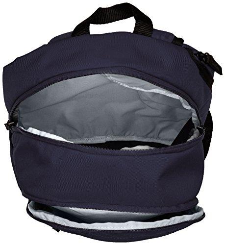 Nike 25 Ltrs Obsidian/Black/Wolf Grey School Backpack (BA4862-452) Image 5