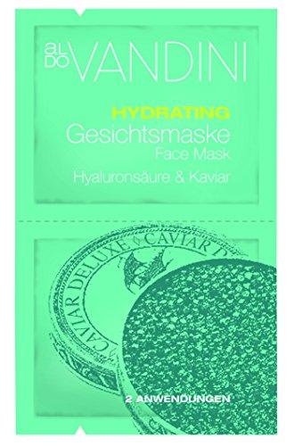 aldoVANDINI DEEP CLEANSING Gesichtsmaske Meerschlamm & Magnesium  - vegan & parabenfrei, 4er  Pack (4 x  15 ml)