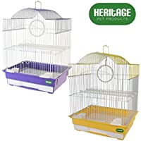 Heritage 3012Lulworth piccola gabbia per uccelli Pappagallino Finch Canarie 36x 29x 46cm
