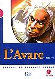 Image de L'Avare - Niveau 3 - Lecture Mise en scène - Livre + CD