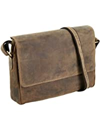 fd9f167176 Greenburry Vintage - Borsa tipo Messenger, in pelle, 34 cm