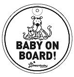 Dreambaby Baby On Board, Round (White)