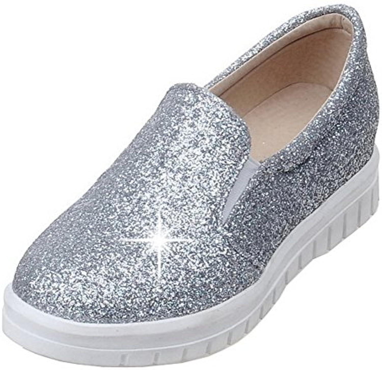 allhqfashion talons bas femmes paillettes solides chaussures chaussures b079lvf899 parent paillettes femmes round 1257b9