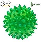 Bramble - 5 x Nicht schmelzende – wieder verwendbare Wäsche Trocknerbälle - Grün / Rot (Grün)