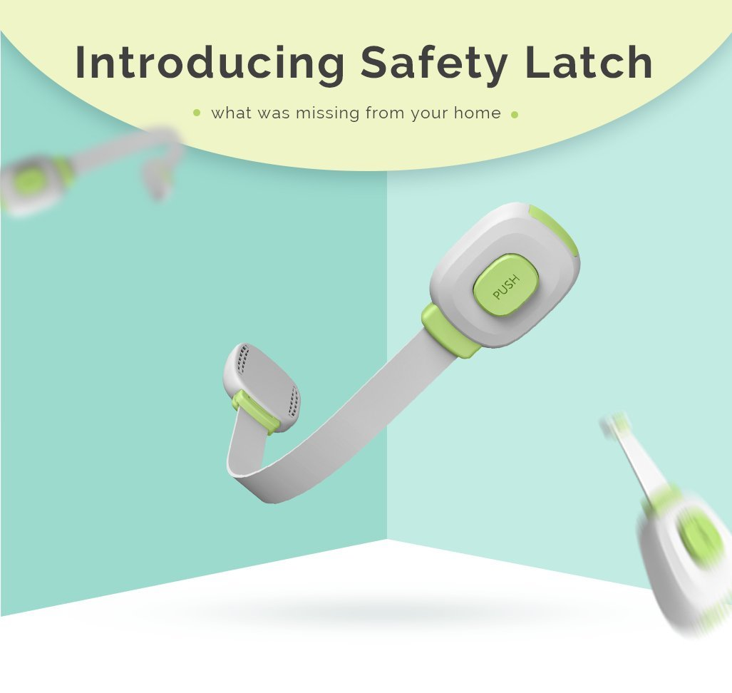 Premium Child Proof Safety Locks Multi Function Latch