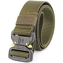 452f626d2 Cinturón táctico para hombres, Cinturón de estilo militar Cinturón de metal  resistente ...