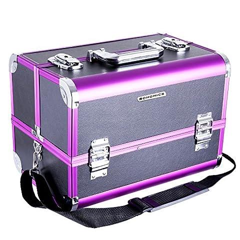 Songmics pro Make up Storage Cosmetic case