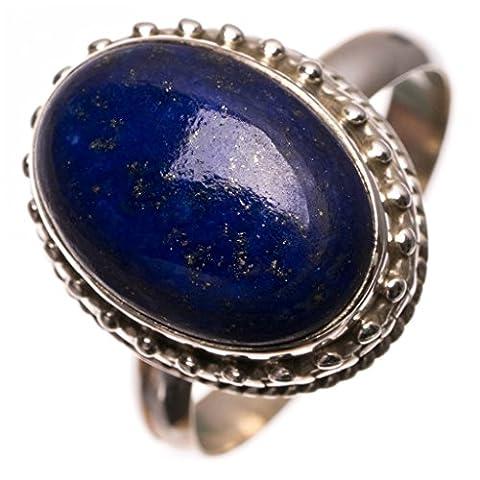 Stargems (TM) Lapis Lazuli naturelles fait à la main Bague