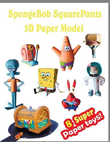 s 3D Paper Model 8 Super Paper Toys: Interesting Paper Crafts for Children ()