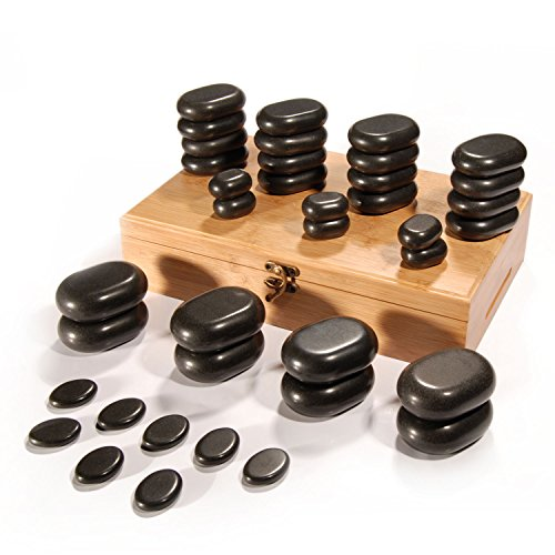 Hot Stone Set, 36 Stck