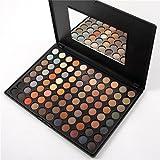 Professional 88 colours Set di trucco palette cosmetici opaca di perle dell'ombra di occhio dell'occhio dell'ombretto impostato con lo specchio , Matte