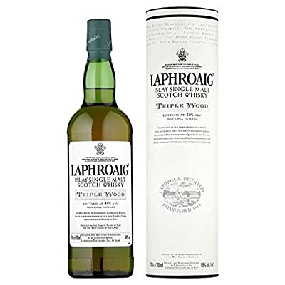 Laphroaig Triple Wood Malt Whisky 70cl - (Pack of 6)