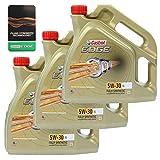 3x 4 L = 12 LITER CASTROL EDGE TITANIUM FST™ 5W-30 LL MOTOR-ÖL 31794814