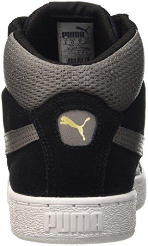 Puma , Herren Sneaker blau Nero (Nero/Steel Gray)