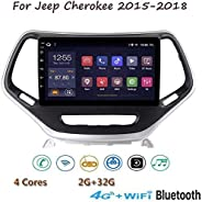 "XXRUG Android 8.1 Stereo GPS Navigations-Radio für Jeep Cherokee 2015-2018 9 ""1080P HD Touch Screen Multimedia"