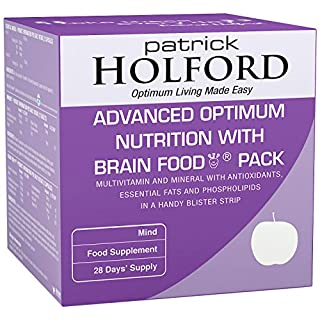 Patrick Holford Advanced Optimum Nutrition with Brain Food - 28 Day Pack