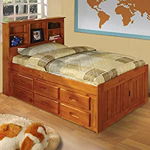 American furniture classics honey finished pinewood twin American classic furniture company