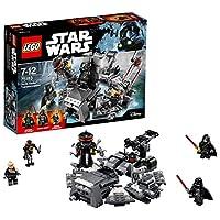 Lego 75183Accorri per salvare l'apprendista di Palpatine, Anakin, prima che sia troppo tardi! Abbassa il tavolo, ruota la maniglia, metti il casco in posizione e solleva nuovamente il tavolo per rivelare il malvagio Lord dei Sith, Darth Vader...