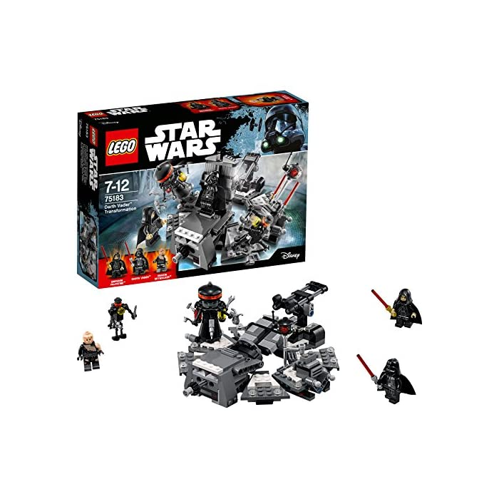 LEGO Star Wars 75183 - Darth Vader Transformation Spielzeug