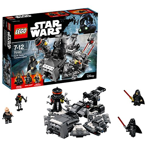 LEGO - Star Wars - La transformation de Dark Vador - 75183 - Jeu de Construction