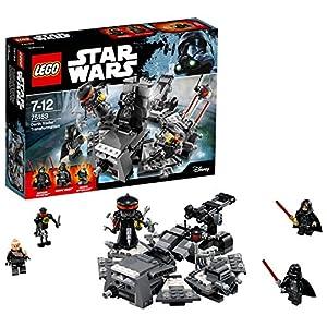LEGO Star Wars - Transformación de Darth Vader, set de Juguete para recrear la famosa escena de la Guerra de las Galaxias (75183)