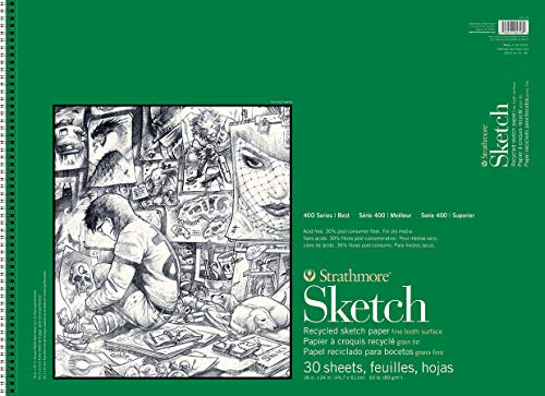 Strathmore str-457–1830Blatt Recycling Sketch Pad, 18von 61cm