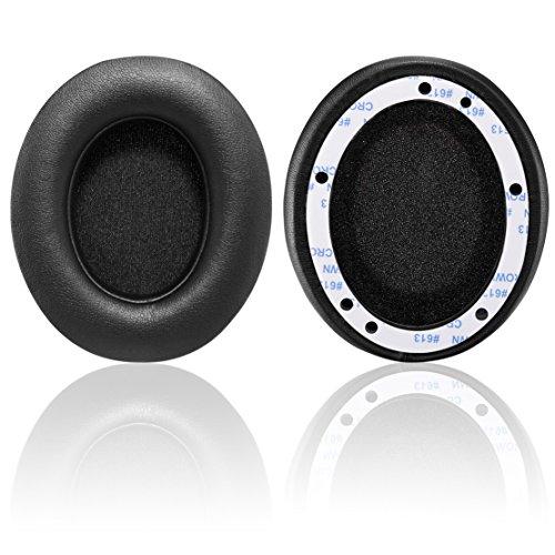 Bingle Cuscinetti Auricolari Di Ricambio per Beats Studio 2.0 Wired / Studio 2.0 Wireless B0500 / B0501(1Pair Nero)
