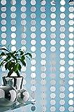 Designervorhang Kunststoffvorhang Galaxy mit Spiegelplättchen