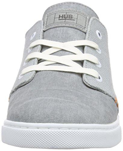 Hub Ashbury 6/15, Baskets homme Gris (greyish blue/greyish blue/wht 175)