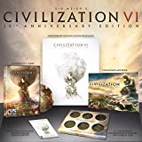 CIVILIZATION VI 25th ANNIVERSARY EDITION PC UK COLLECTORS