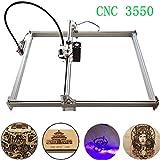 Kits De Graveur Laser Bricolage CNC Sculpture Sur Bois Gravure Machine De Découpe Gravure De Bureau Imprimante Logo Marquage, 35x50cm, 2 Axes (2500MW)