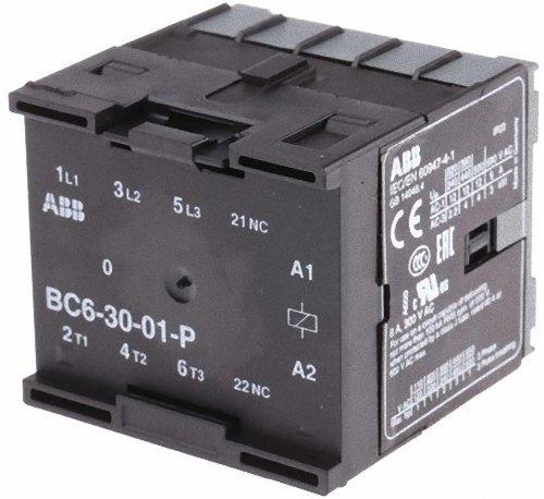 ABB-ENTRELEC BC6 - MINICONTACTOR 3001 POLOS 24VCC SOLDAR/ADO