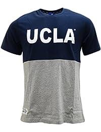 UCLA - T-shirt - Uni - Manches Courtes - Homme gris gris