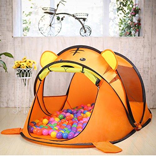 Pop-up Kinder Spielzelt, Kleintier Modellierung Ocean Ball Haus Indoor und Outdoor Spielzeug 182 * 96 * 76cm (Geschenk Marine Ball) (Farbe : #B)