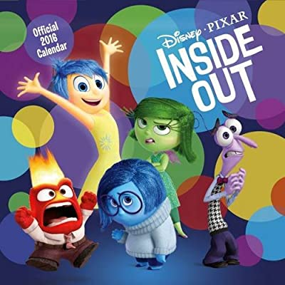 Official Inside Out 2016 Square Wall Calendar (Disney Pixar Calendar)