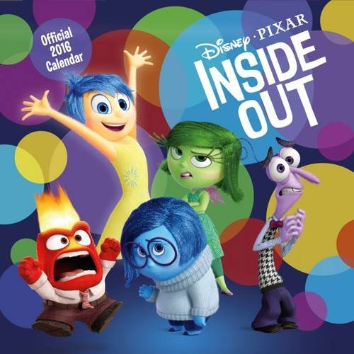 The Official Inside Out 2016 Square Calendar (Calendar 2016)