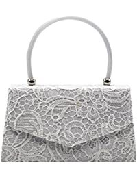 31af14bcdd5 Amazon.co.uk: White - Wristlets / Women's Handbags: Shoes & Bags
