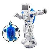 LE NENG K3 Ferngesteuerter Roboter, Roboter Programmierbar mit Fernbedienung für Kinder Spielroboter Schießen Singen und Tanzen