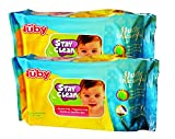 Nuby Comfort Baby Wipes (80 Sheets) - Pa...
