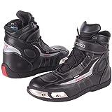 Modeka LE MANS 2 Motorradstiefel Leder - schwarz Größe 42