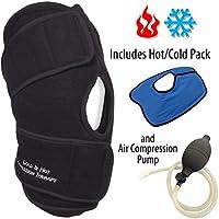 NatraCure aufblasbare Wärmetherapie & Kältetherapie Kniebandage Kompresse – Knieschoner kalt warm Kompression... preisvergleich bei billige-tabletten.eu