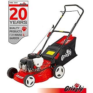 Grizzly Benzin Rasenmäher BRM 4210-20 1,6 kW 2,1 PS 42 cm Schnittbreite 5 Fach Höhenverstellung